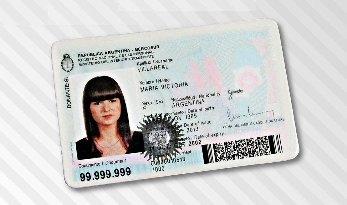 DNI Digitalizado para viajes a Brasil y Mercosur Imagen: Ministerio del Interior